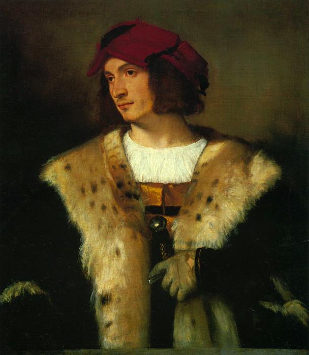 Man in a Red Cap Titian