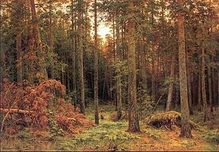shiskin pine-forest-1885-Ivan Shishkin-Trees