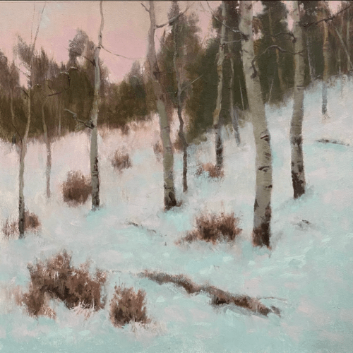 painting snow class deborah paris